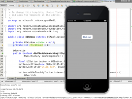 RoboVM iOS Sample App