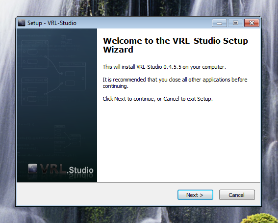 VRL-Studio Windows Installer