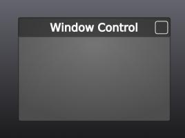 Window Control: Custom Icon